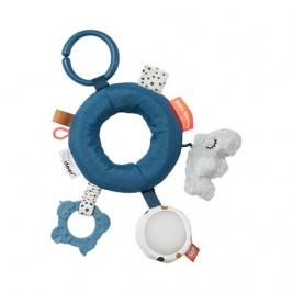 DONE BY DEER žaislas kūdikiams ACTIVITY RING DEER FRIENDS BLUE