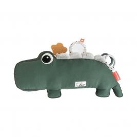 DONE BY DEER lavinamasis žaislas naujagimiui CROCO GREEN