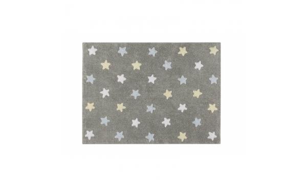 LORENA CANALS kilimas GREY STARS BLUE