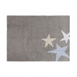 LORENA CANALS kilimas THREE STARS GREY