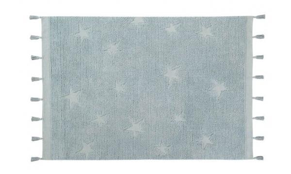 LORENA CANALS kilimas HIPPY STARS AQUA BLUE