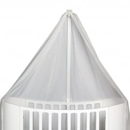 LEANDER CLASSIC baldakimas vaikiškai lovytei WHITE
