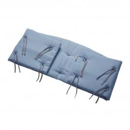 LEANDER lovytės apsaugėlė ORGANIC DUSTY BLUE (LEANDER CLASSIC lovelei)