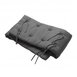 LEANDER lovytės apsaugėlė ORGANIC COOL GREY (LINEA ir LUNA lovelėms)