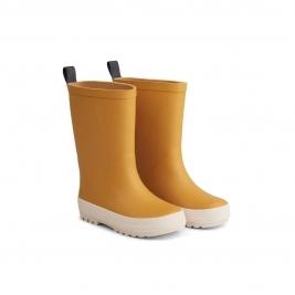 LIEWOOD ilgi vaikiški guminiai batai RIVER YELLOW MELLOW/CREME DE LA CREME MIX