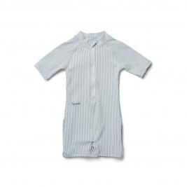 LIEWOOD maudymosi kostiumėlis MAX STRIPE: SEA BLUE/WHITE