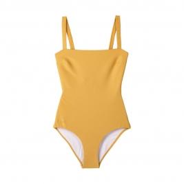 LIEWOOD maudymosi kostiumėlis mamai PATRICIA STRUCTURE YELLOW MELLOW
