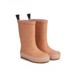 LIEWOOD ilgi vaikiški guminiai batai RIVER TUSCANY ROSE MIX