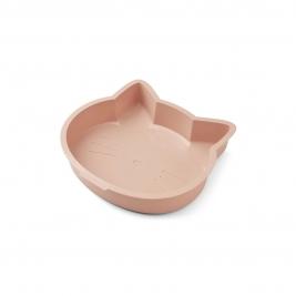 LIEWOOD silikoninė forma pyragui AMORY CAT ROSE