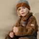 LIEWOOD megzta vaikiška kepurė EZRA GREY MELANGE/GOLDEN CARAMEL MIX