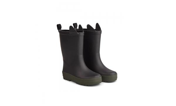 LIEWOOD ilgi vaikiški guminiai batai RIVER BLACK HUNTER MIX