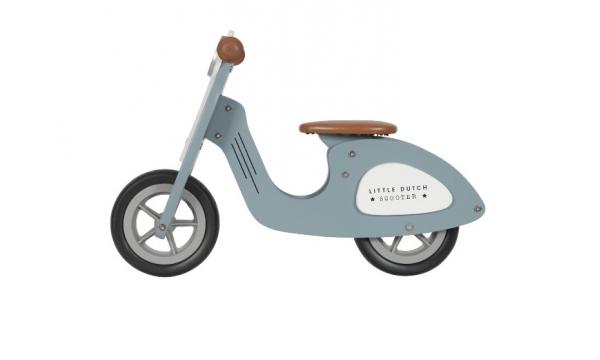 LITTLE DUTCH balansinis dviratis SCOOTER BLUE