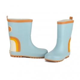 GRECH&CO ilgi vaikiški guminiai batai LIGHT BLUE