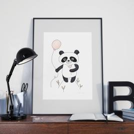 PAVEIKSLĖLIS Panda Miss.TOTO
